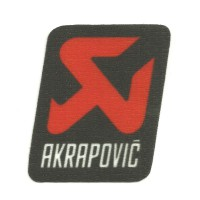 Textile patch AKRAPOVIC 5cm x 5,5cm