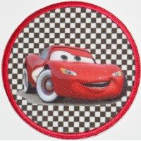 Embroidery Patch CARS 7,4cm
