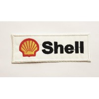 Embroidered patch SHELL 12 CM X 4.5cm