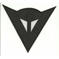 Patch embroidery DAINESE LOGO BLACK 7cm x 6,5cm