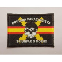 Embroidery and textile patch BRIGADA PARACAIDISTA 7cm X 5cm