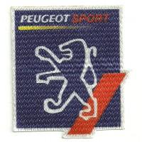 Parche textil PEUGEOT SPORT 6cm x 7cm