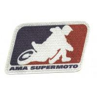 Parche textil AMA SUPERMOTO 9CM X 5,5CM