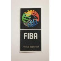 Parche textil FIBA 3CM X 6CM