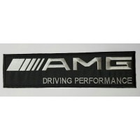 Parche bordado AMG DRIVING 15cm x 4cm
