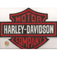 Parche bordado HARLEY DAVIDSON 22cm x 17cm
