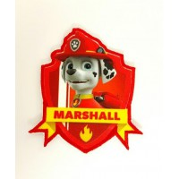Embroidery and textile patch PATROL CANINE MARSHALL 7.5cm x 8,3cm