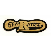 CLASSIC RACER COFFEE embroidered patch 10,3 cm x 3cm