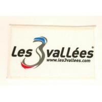Embroidery and textile patch LES VALLÉES 8cm x 5cm