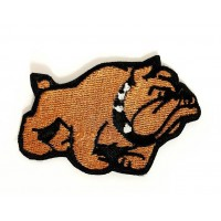 Embroidered patch BULLDOG 6cm x 3.5cm
