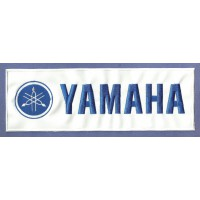 Parche bordado YAMAHA 24cm x 5cm