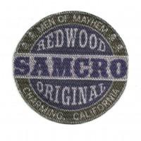 Parche textil REDWOOD ORIGINAL SAMCRO 7,5cm x 7,5cm