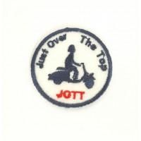Embroidery patch JUST OVER THE TOP JOTT 4cm