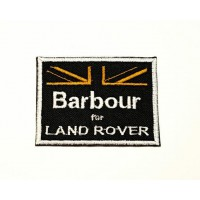 LAND ROVER BARBOUR embroidered patch 9cm x 7cm