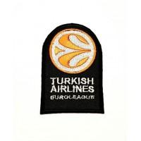 Parche bordado TURKISH AIRLINES EUROLEAGE 5cm x 7,5cm