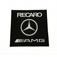 Patch embroidery RECARO 7cm x 7cm