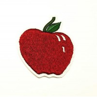 RIPE APPLE Patch embroidery 5cm x 5.5cm