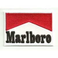 Patch embroidery MARLBORO 8CM X 5,5CM