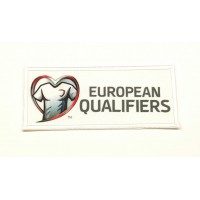 EUROPEAN QUALIFIERS textiles and embroidered patch 9.5 cm x 4cm