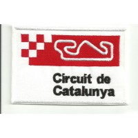 Patch embroidery CIRCUIT DE CATALUNYA 9cm x 6cm