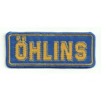 Patch embroidery OHLINS 9cm x 3,5cm