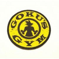 Parche bordado y textil GOKU'S GYM 7,5cm