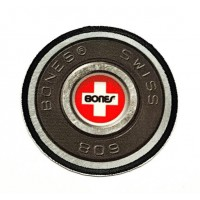 textile and embroidery patch BONES SWISS 608 7.5cm