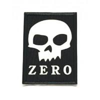Parche textil y bordado ZERO 5cm x 7cm