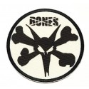 embroidered patch SKULL BONES 20cm