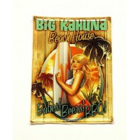 textile and embroidery Patch BIG KAHUNA 5cm x 7cm