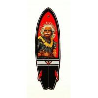 Textile patch SURFBOARD 3cm x 10cm