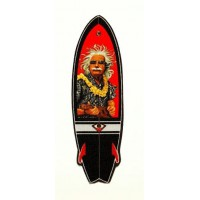 Textile patch SURFBOARD 6cm x 20cm