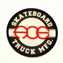 SKATEBOARD ACE textile embroidery patch 7,5cm