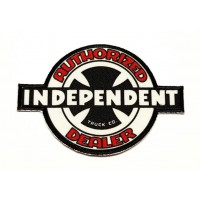 textile embroidery patch INDEPENDENT AUTHORIZED 9,5cm X 6,5