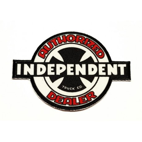 textile embroidery patch INDEPENDENT AUTHORIZED 7,5cm