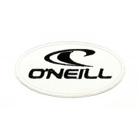 embroidery patch WHITE O'NEILL 8,5cm x 4,5cm 7,5cm