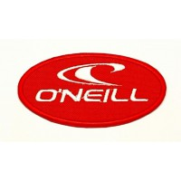 embroidery patch RED O'NEILL 8,5cm x 4,5cm 7,5cm