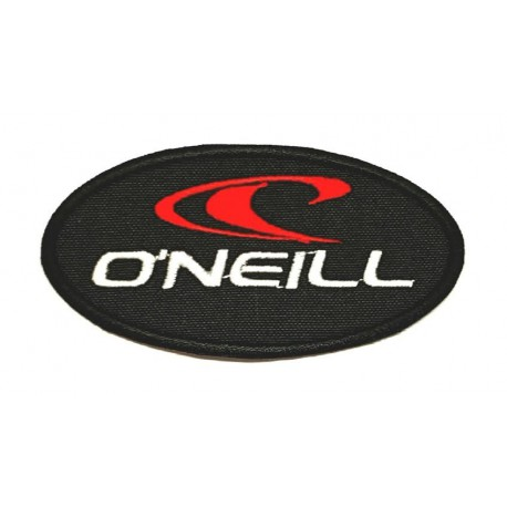 embroidery patch BLACK O'NEILL 8,5cm x 4,5cm 7,5cm