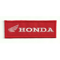 Patch embroidery HONDA ROJO 9cm x 3cm