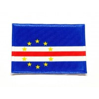 Patch embroidery FLAG CAPE VERDE 7cm x 5cm