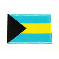 Patch embroidery BAHAMAS FLAG 7cm x 5cm
