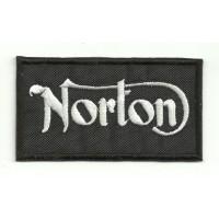 Parche bordado NORTON 7,5cm x 4cm