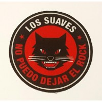 Textile patch LOS SUAVES 7,5cm