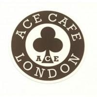 Textile patch AC CAFE 8cm