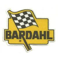 Textile patch BARDAHL 9CM X 7,5CM