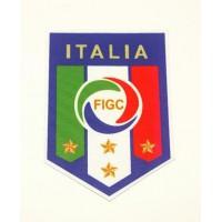 Parche textil SELECCION ITALIANA DE FÚTBOL 7,5cm x 11,5cm