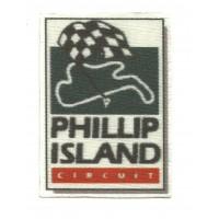 Textile patch PHILLIP ISLAND 6cm X 8cm