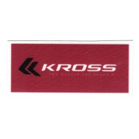 textile patch KROSS 9cm x 4cm