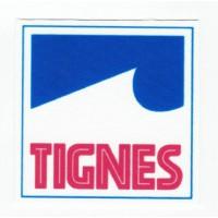 textile patch TIGNES 6,3CM X 6,3CM