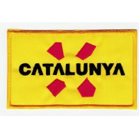 embroidery patch CATALUNYA 10,5cm X 6,3cm